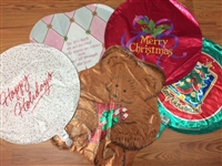 18 inch Christmas Foil Balloon Assortment