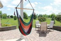 Nicaraguan Multi-Color Hammock Swing Chair
