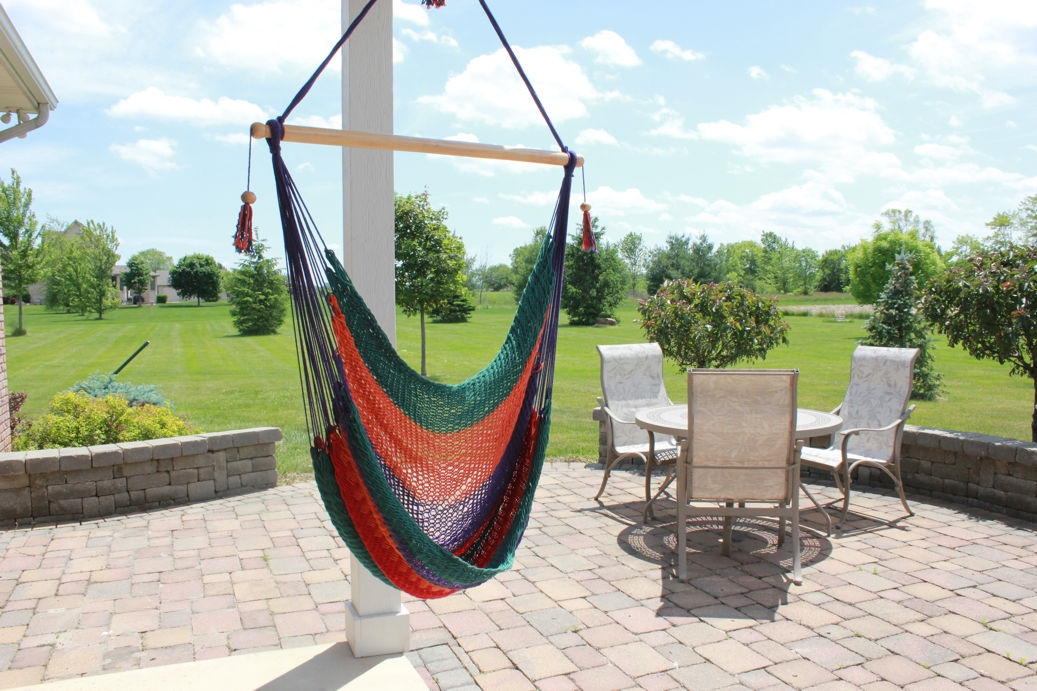 alternative views  multi color hammock swing chair  rh   nicaswings