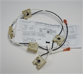 GE WB18T10338 Spark Switch and Harness