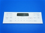 GE WB27K10408 Oven Control Overlay T011