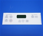 GE WB27T10674 Oven Control Faceplate