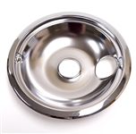 GE WB31M15 8 Inch Chrome Drip Pan