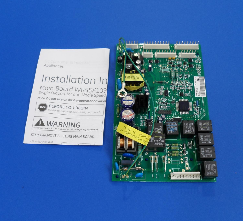 GE WR55X10942P Refrigerator Main Board on