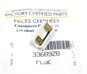 Whirlpool Dishwasher Thermal Fuse WP3368928