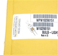 Whirlpool  WPW10298151 Halogen Hood Light Bulb