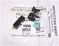 Whirlpool  W10820036 Washer Lid Switch