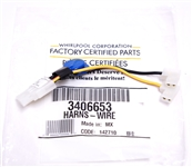 Whirlpool WP3406653 Dryer Sensor Harness