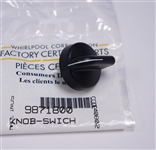 Whirlpool WP9871800 Trash Compactor Knob Black