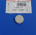 Whirlpool Maytag Washer Dryer Rubber Foot WPY314137