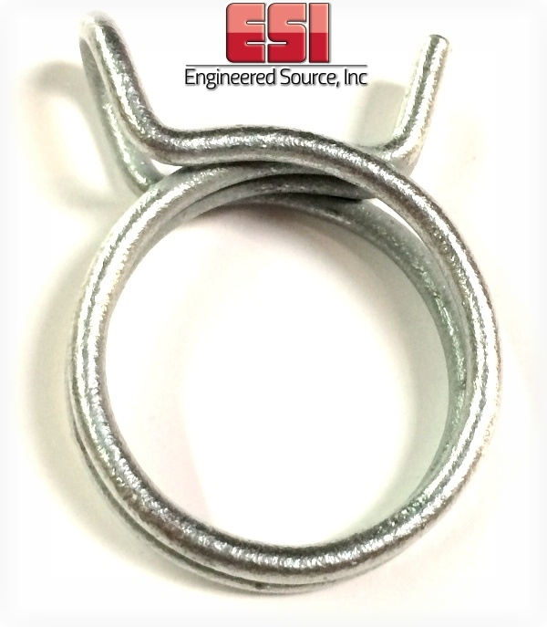 DW-16ST-ZD Double Wire Rotor Clip Hose Clamps 250 Pieces