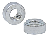 S-RTM6-2ZI PEM M5 X 0.8 SELF CLINCHING LOCKNUT, STEEL ZINC - 250 PCS