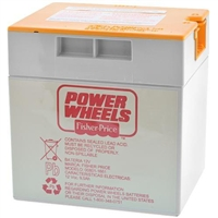 Power Wheels 12 Volt 9.5AH (Orange Top) Battery - 00801-1661