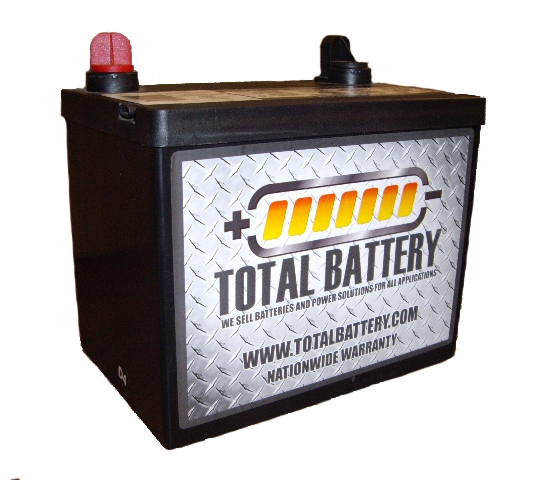 Total Battery 8u1r U1r 230cca Lawn Amp Garden Battery