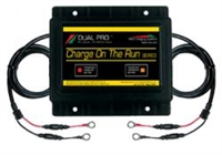 "DUAL PRO Charging Systems - CRS2 Two Banks Engine Output 4.0""H x 6.0""W x 5.5""L 4.0 lbs. 12V, 24V"