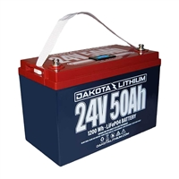 Dakota Lithium 24V 50Ah Battery