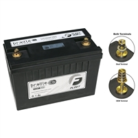 BRAILLE F31 - Group 31 Lithium Starting/Power Supply battery