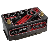 BRAILLE I34CE - Intensity Carbon Group 34 (low profile) lithium battery