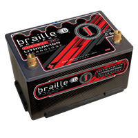 BRAILLE I34CX - Intensity Carbon Group 34 (standard height) lithium battery