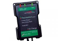 DUAL PRO Charging Systems - Recreational/Industrial Series RS1/IS1 One 6 Amp Bank 6 Amps 12V