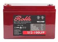 Rolls Group 31 12V100AH LifePo4 Battery