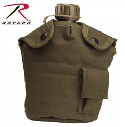 G.I. 1 Quart Plastic Canteen with Cover