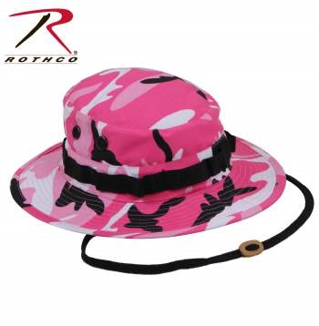 ROTHCO WOMENS BOONIE JUNGLE HAT - PINK CAMO 6d159bb0ded5