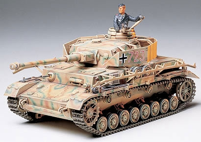 Tamiya 1/35th German Panzer IV Type J Tank Model
