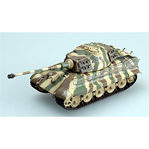 Easy Model 1 72 German King Tiger Ii Henschel Tank Model