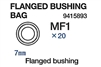 RC Flanged Bushing Bag:  56016