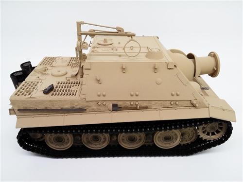 Taigen 1/16th Radio Control German Sturmtiger Tank - BB (Airsoft) Version -  Desert Version - Plastic