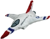 Cuddle Zoo Plush F-16 Fighting Falcon Thunderbirds