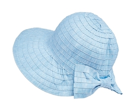 wholesale facesaver hat - packable ribbon travel cap