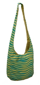 wholesale zebra print canvas sling bag