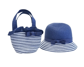 Wholesale Kids Hats-Purse Sets