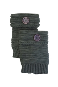 Wholesale Boot Cuffs - Knit with Buttons