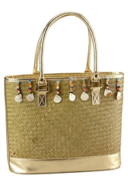 wholesale resort beach bag seagrass straw tote