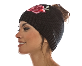 wholesale beanie womens winter hats flower