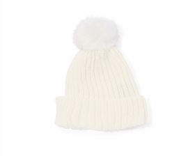 Wholesale Kids Beanie Hats - Pom