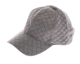 wholesale fashion quilted baseball hats - womens winter caps