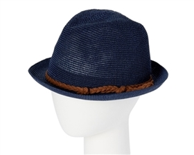 Wholesale Womens Fedora Hats - Knitted Toyo Straw Hat