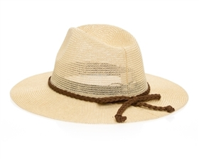 Wholesale Ladies Panama Hats - Knitted Toyo Straw Hat