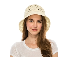 dollar hats wholesale straw hand crocheted womens sun hat