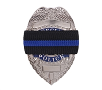 Rothco Thin Blue Line Mourning Band - 1004