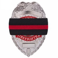 Rothco Thin Red Line Mourning Band 1006
