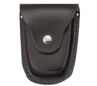Rothco Black Deluxe Leather Handcuff Case - 10081