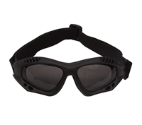 Rothco Black Tactical Goggles - 10377