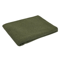 Rothco Olive Drab Wool Rescue Blanket - 10430