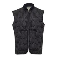 Rothco Black Quilted Woobie Vest - 10434