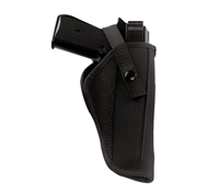Rothco Black Cordura Hip Holster - 10544